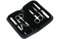 Manicure Kit With Leather Box