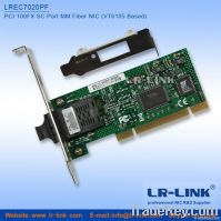 PCI 100FX SC port Fiber NIC Card(VT6105 based)