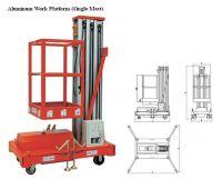 Aluminum Work Platform (Single Mast)