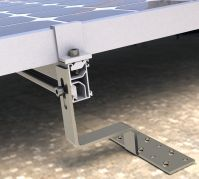 PV racks mounting system -- Tilted roof