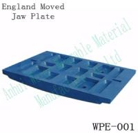 Wearable high manganese jaw crusher parts jaw plate, jaw dies