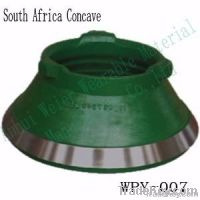 high manganese and chrome cone crusher spare parts-mantle, concave