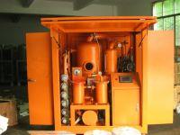 Double Vacuum Transformer Oil Treatment/Insulating Oil Degasifier
