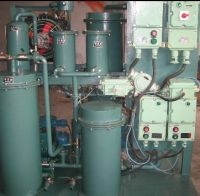 hydraulic oil treatment/lube oil disposal