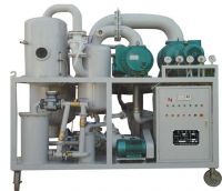 Double-Stage Vacuum Insulating Oil Regeneration Purifier