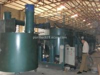 engine oil purification system, black oil decoloring