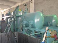 waste engine oil regenerator, black oil decolorring, car oil filter