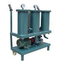 JL Series Portable Oil Filter High Precision Oil Purifier Unit