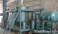 Black Engine Oil Regeneration Plant