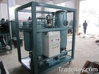 Turbine Oil Purification Device with Vacuum System