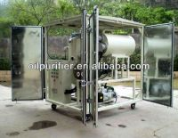 Double Stage Vacuum Evacuating Transformer Oil Filtration System