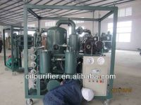 Enclosed vacuum Used Transformer oil filtration/ Mini Dielectric oil purification/ oil treatment plant with weatherproof canopy