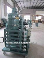 ZN High Vacuum Transformer Oil Purifier/Transformer Oil Filtration Plant for old transformer oil treatment