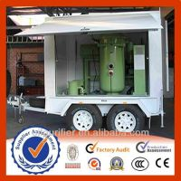 China Zhongneng Mobile Vacuum Transformer oil filter, oil purifier,oil dehydration system