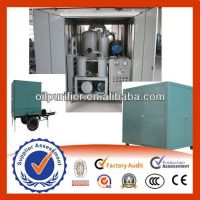Sell Mobile Type Transformer Oil Purifier, Oil Purification Plant, Insulating Oil Purifier