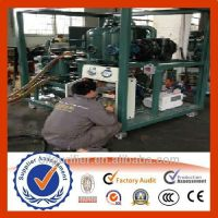 Transformer oil reconditionging,oil filtering system made by ZHONGNENG Co