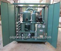 ZHONGNEG Vacuum Used Transformer/Insulating Oil Purifying System,Transformer Oil Purifier unit