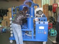Insulation vacuum oil purifier, oil filtration system series ZYD