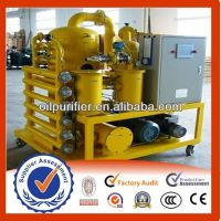 Supply Automatic Transformer Oil Purifier, Oil Refinery Machine with PLC System