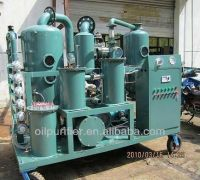 High vacuum transformer oil purification equipment/Transformer oil filtration unit/transformer oil filter series ZYD-N