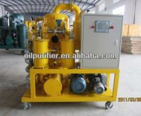 Supply Transformer Oil Purification Machine with PLC System, Operate Machine by Touch