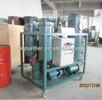 vacuum turbine oil purifier plant