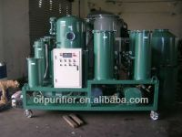 Lubricant oil filtration system, oil purification machine series TYA