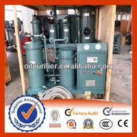 Supply Lubricating Oil Purifier, Dirty Oil Purification Machine, Waste Oil Recycling Machine