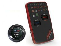 Car alarm security with smart key system  2 way communication