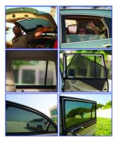 Vehicle Sun Shades with 3 D technology base