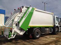 semi trailer garbage transfer