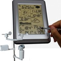 professional weather station with PC