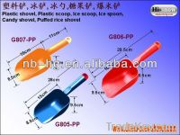 G805 Plastic shovel spoon, Food Scoop, Ice spoon