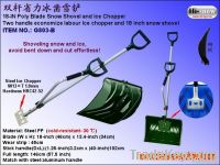 G803-B Mul-function two hands Ice Snow Shovel