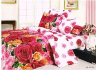 100% cotton polyester cotton bedding set