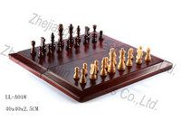 Folded chess game