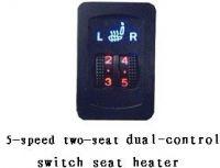 carbon fibre auto seat heater