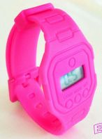 Silicone Flat Watch