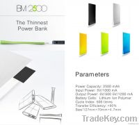 Trendy Power Bank 2500mAh(Factory Price)