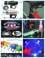 Wholesale Bicycle Lights / Bicycle taillights / silicone lamp