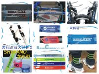 Bicycle Chain Care Post / fork jacket / reflective tape / panty with