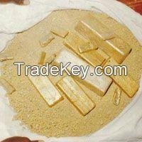 Mali Raw Gold Dore Bars, Malian Raw Gold Dore Bars