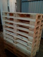Wood boards, pallet components, pallets