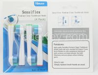 Electric toothbrush heads for  Sensiflex