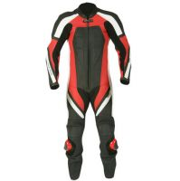 Leather Motorbike One Piece Suit