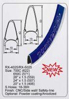 RX-4025/RX5025 Rim Wheelset