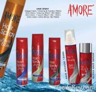 AMORE hair styling spray