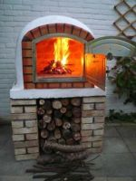 Wood Fired Pizza Oven 80cm