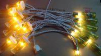Corona Party String Lights, Miller bottle light string, Kona bottle string light