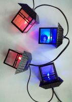 10 Led Fairy Retro House lantern Battery Operated String Lights 1.5M LED Decoration For Christmas Garland